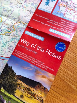 Way of the Roses Map