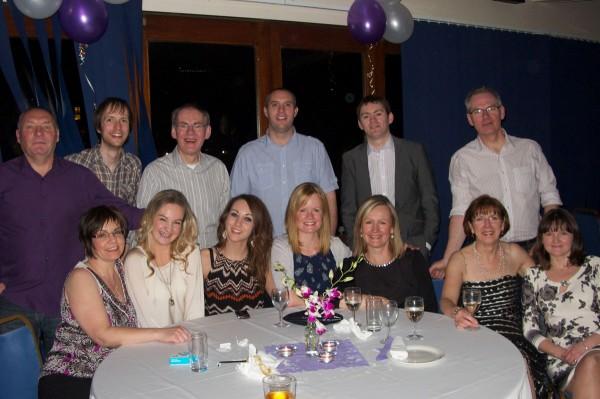 Stephensons gather at Wesley and Deborah's 10th anniversary